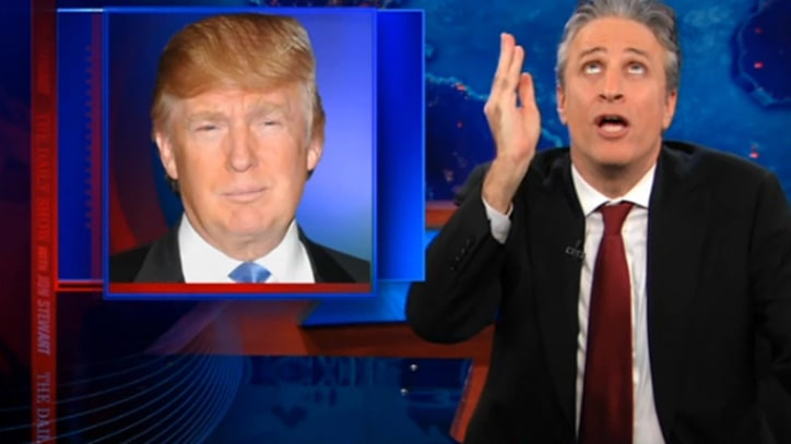 Jon Stewart on Trump's Romney Endorsement