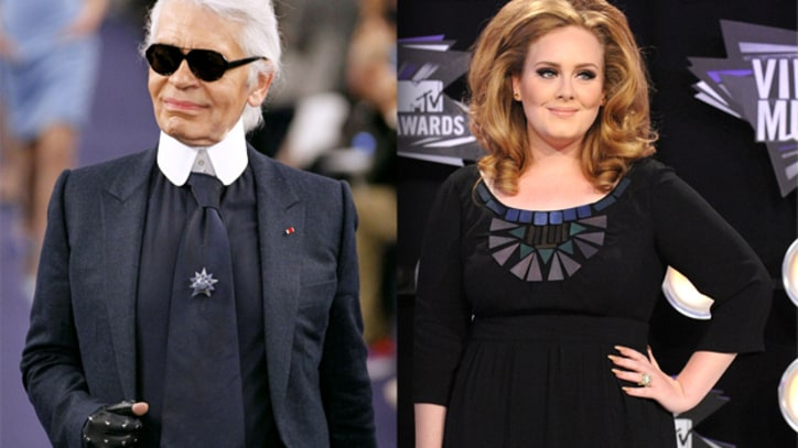 Karl Lagerfeld Calls Adele 'Fat', Sparks Controversy