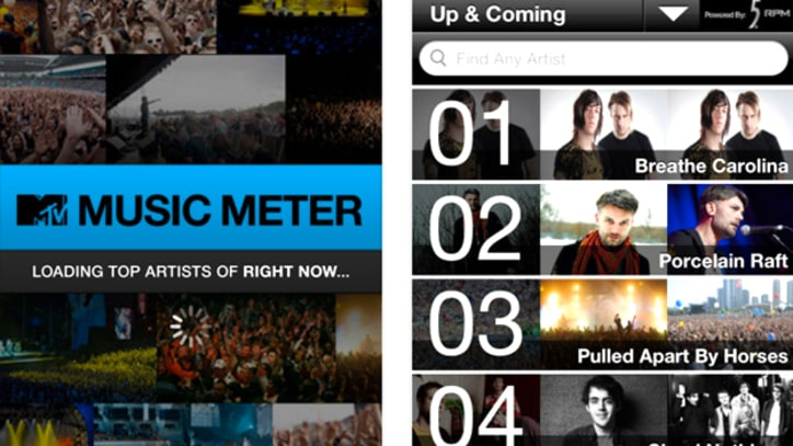 MTV Updates Music Meter App