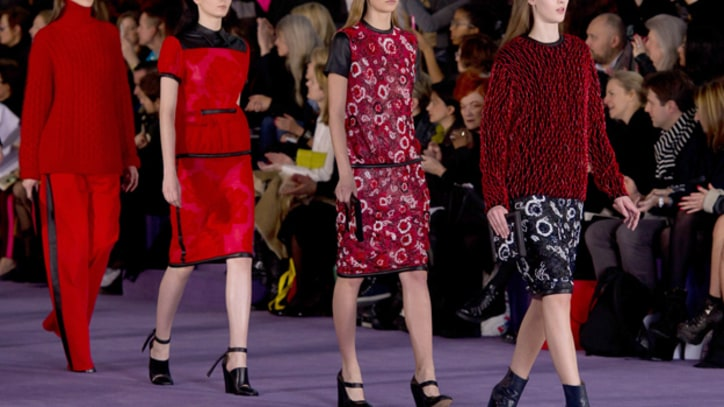 London Fashion Week: Christopher Kane Plunges Into Darkness