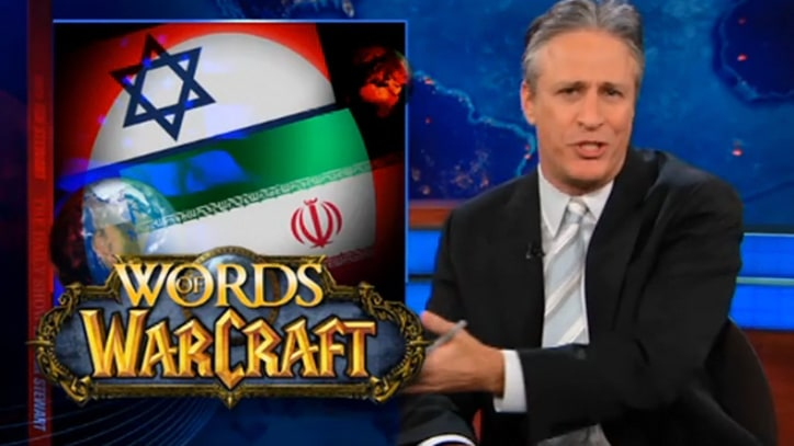 Jon Stewart on the Iranian-Israeli Schoolyard Fight