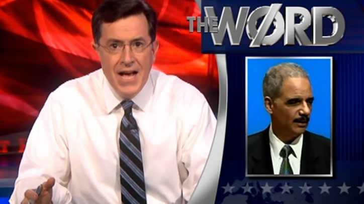 Stephen Colbert on Eric Holder's Case for Killing U.S. Citizens