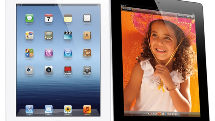 Apple Unveils New iPad HD