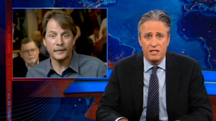 Jon Stewart on Mitt Romney's 'Southern-Fried Pandering'