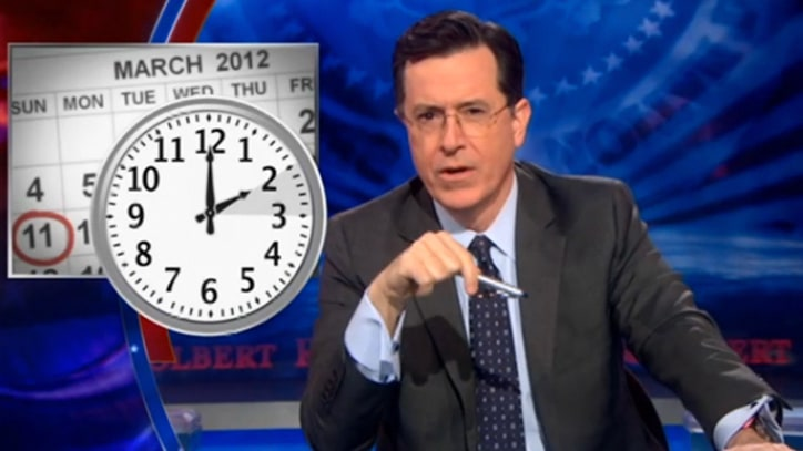 Stephen Colbert on 'Daylight Savings Socialism'