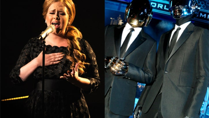 Adele vs. Daft Punk: 'Something About the Fire'