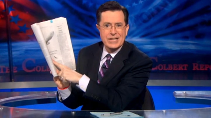 Stephen Colbert on Goldman Sachs and Its 'Banker-dict Arnold'