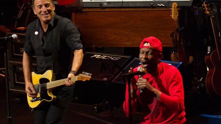 Bruce Springsteen and Jimmy Cliff:
