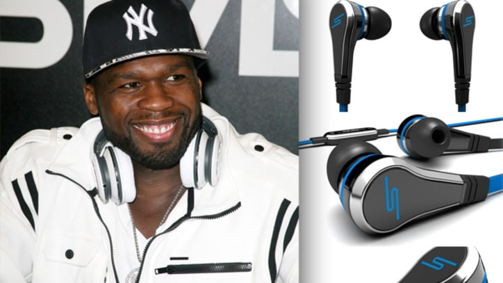 50 Cent Unveils Street by 50 In-Ear Headphones