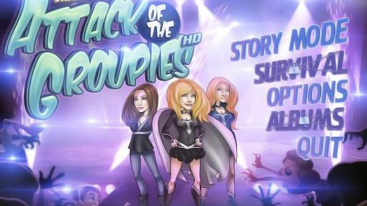 Fend Off Gene Simmons' Groupies in New Mobile Game