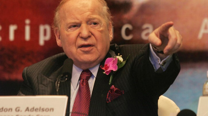Why GOP Mega-Donor Sheldon Adelson Is Mad, Bad and a Danger to the Republic