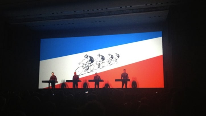 Kraftwerk Kick Off Career Retrospective in New York