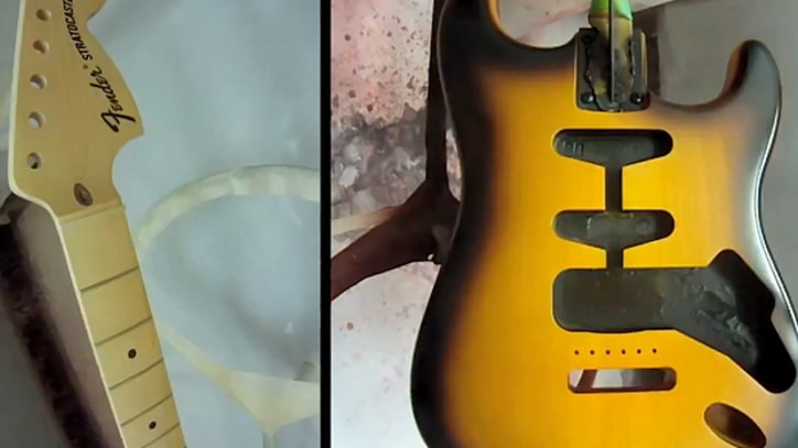 Fender Video Shows Guitar-Building Process at Breakneck Speed