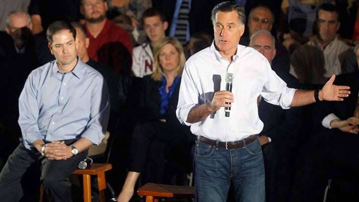 Mitt Romney Moonwalks to the Center on Immigration