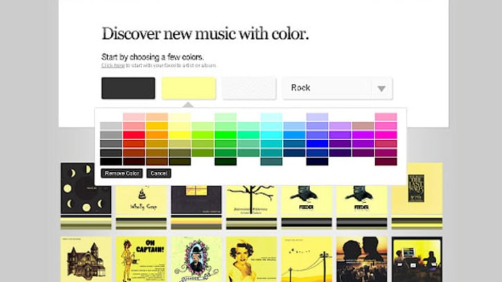 Feeling Green? ColorHits Gives Song Recommendations by Hue