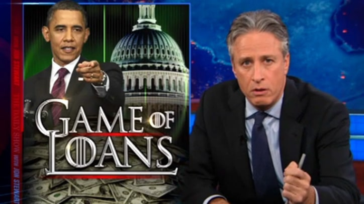 Jon Stewart on the Game of (Student) Loans