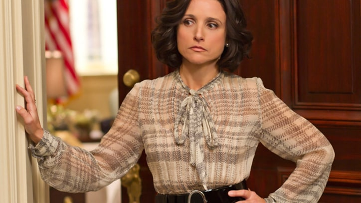 Julia Louis-Dreyfus Takes Charge on 'Veep'
