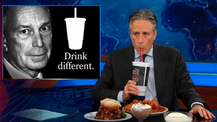 Jon Stewart: Bloomberg Should Just Reintroduce Crack if He Really Cares About Fighting Obesity