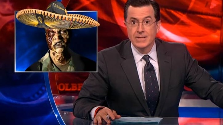 Colbert: Zombies Are Intellectual Elites - 'All They Care About Is Braiiiiiiins'