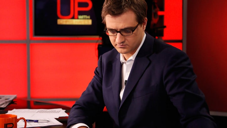 Up with Chris Hayes: Government Defaults to Secrecy 'For Fear of Embarrassment'
