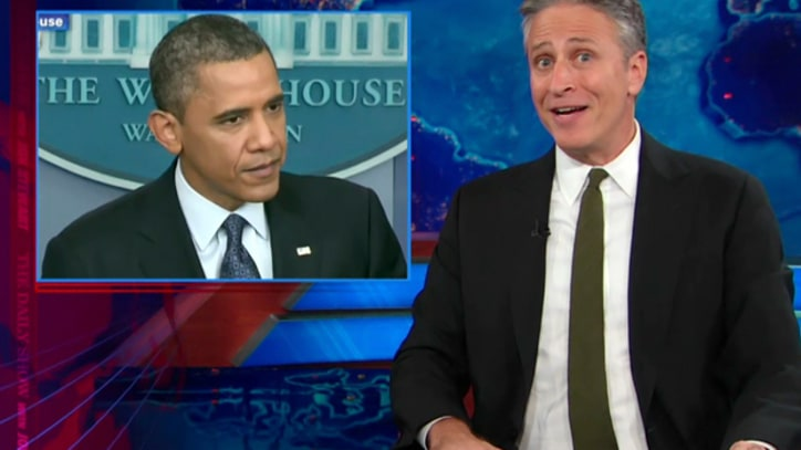 Jon Stewart: 'Congratulations Mr. President, It's a Gaffe'