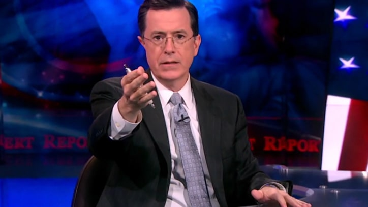 Colbert: Nun's Book on Sex Like 'An Ultimate Fighting DVD Released by the Dalai Lama'