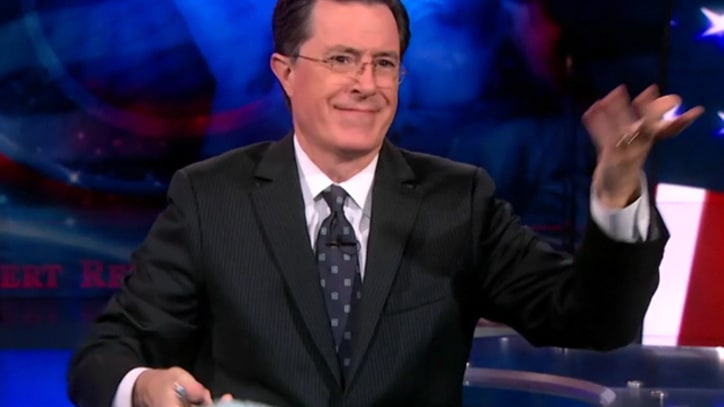 Colbert: 'Mitt is Just Your Average Blue-Collar Fan of Dressage'