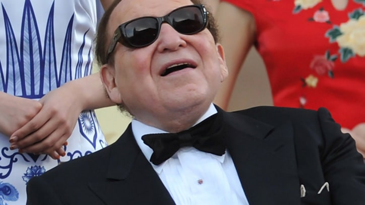Sheldon Adelson Bets Big on Romney - and He's Just Getting Started