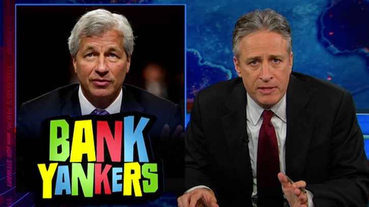 Jon Stewart: It's Almost as if GOP Senators Are on JPMorgan's Payroll