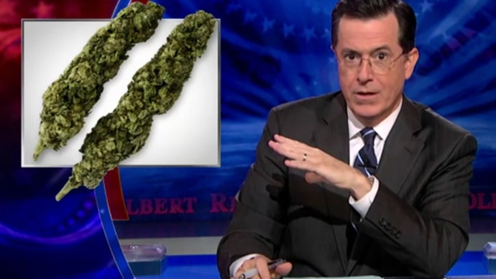 Colbert: Pot Legalization Initiatives Are 'the Ultimate Grassroots Campaign'