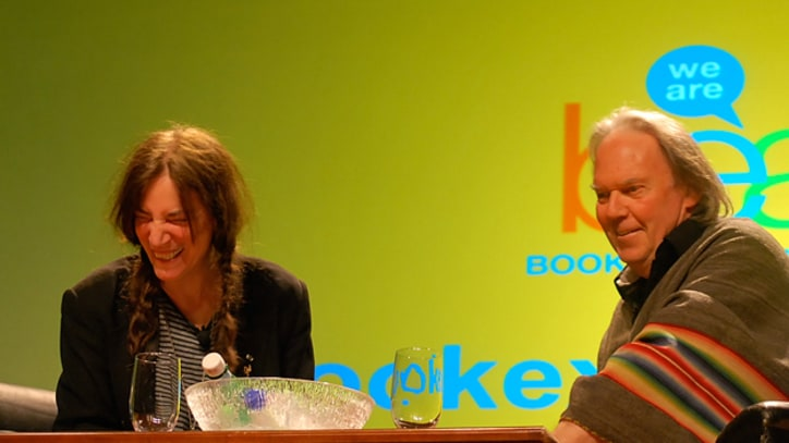 Neil Young, Patti Smith Discuss Future of Publishing at BookExpo America