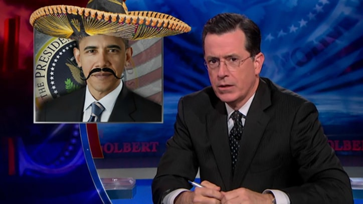 Colbert: 'Maybe I'm a Conspiracy Theorist, but Barack Obama's Trying to Get Reelected'