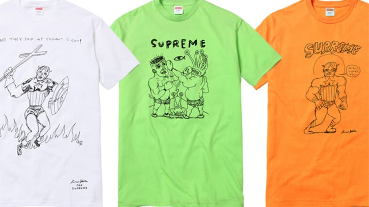 Daniel Johnston Designs Comic Tees