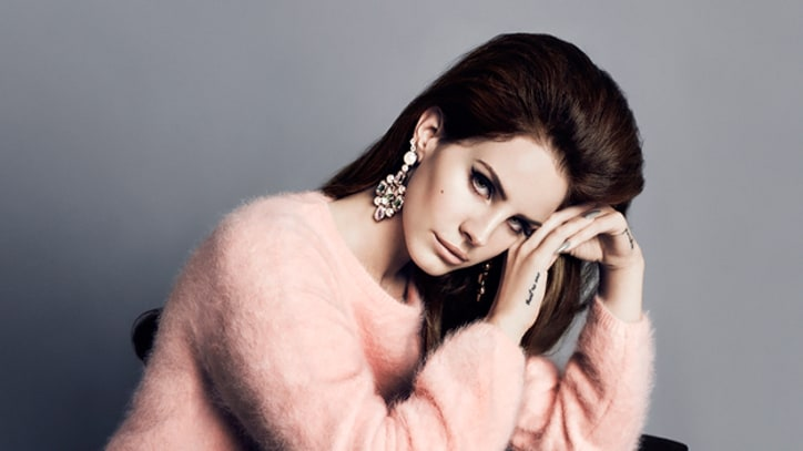 Lana Del Rey Is the New, Pouting Face of H&M