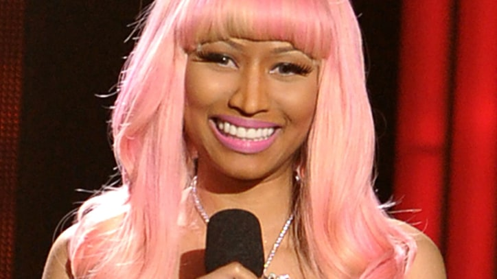 Nicki Minaj Unveils 'Pink Friday' Fragrance Bottle
