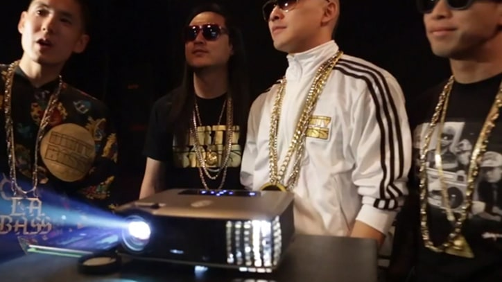 Far East Movement Mixes New Digital Graffiti Video