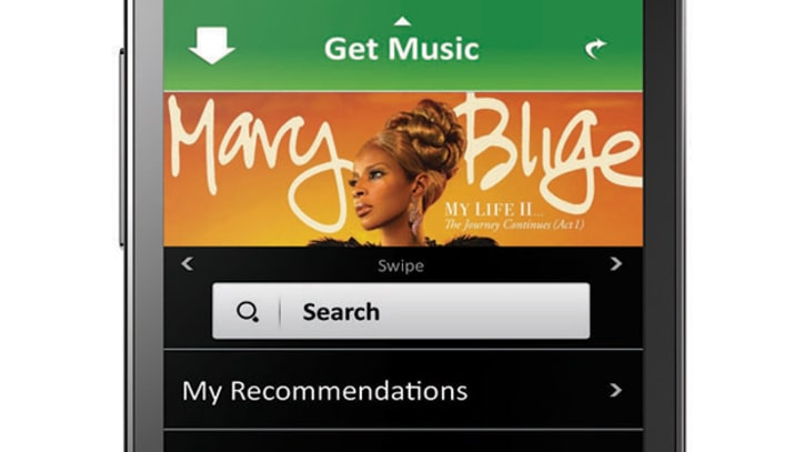Cricket Includes Unlimited Music Downloads for Android Phone