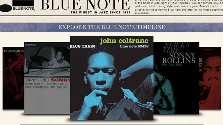 Blue Note Records' Spotify App Streamlines Jazz Discovery