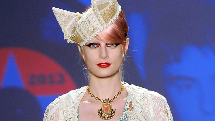 Fashion Week: Anna Sui's Steampunk Stamp