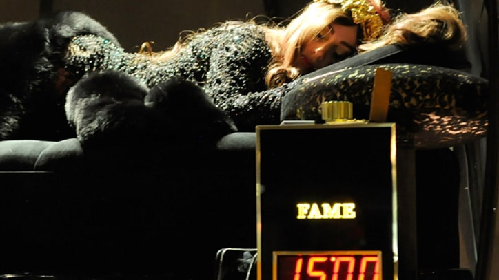 Lady Gaga Gets Wild at 'Fame' Masquerade Ball in New York