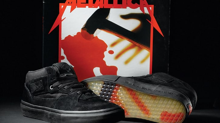 Metallica and Vans Add Third Design to 'Kill 'Em All' Shoe Line