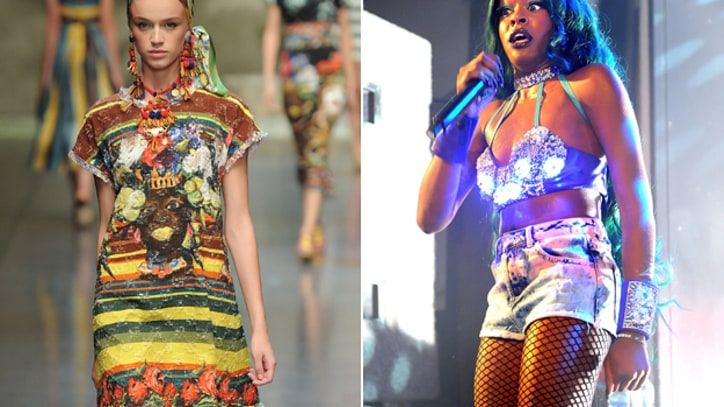 Azealia Banks Slams 'Racist' Dolce and Gabbana Line