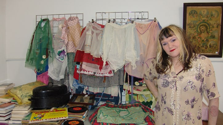 X's Exene Cervenka Cleans Out Her Closet