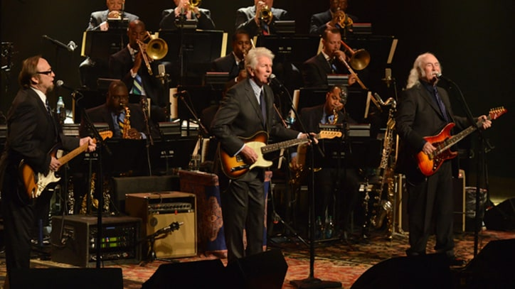 Crosby, Stills and Nash Work Out With Jazz at Lincoln Center Orchestra