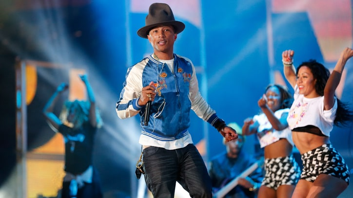Pharrell Enlists Diddy, Snoop Dogg, Busta Rhymes for NBA All-Star Game