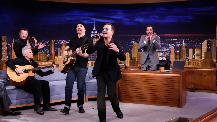 6 Best Musical Moments From Jimmy Fallon's 'Tonight Show' Debut