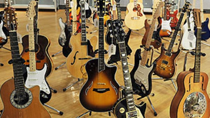 Eric Clapton Sells Over 70 Guitars at Charity Auction