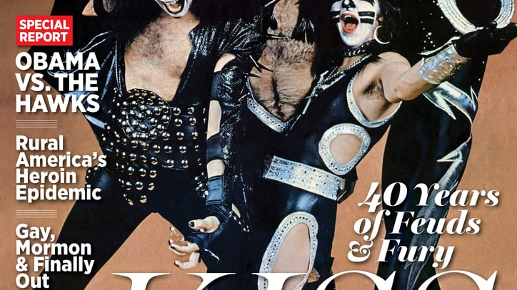 Kiss Finally Get the Cover of Rolling Stone