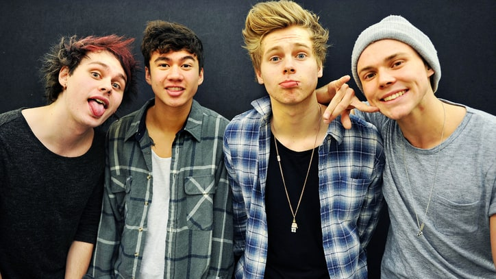 On the Charts: Aussie Boy Band 5 Seconds of Summer Almost Top 'Frozen'