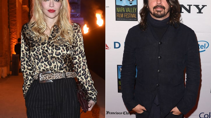 Did Nirvana's Rock Hall Induction End Dave And Courtney Feud?